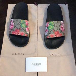 Blossom Gucci Slides